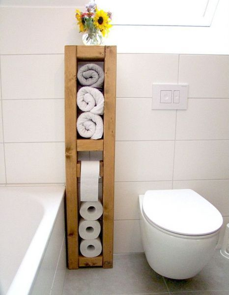25 Toilet Paper Holder Ideas That Will Get Your Decorating On A Roll Toilet Paper Storage Toilet Paper Diy Bathroom