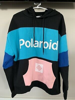 Polaroid Be Original Sweatshirt Hoodie Polaroid Camera