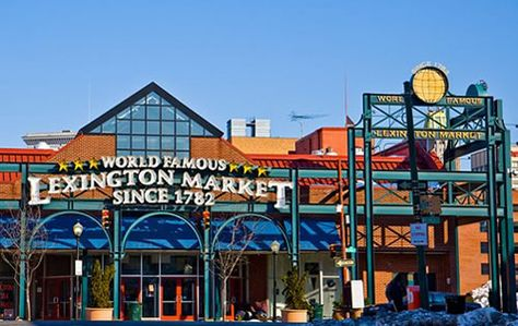 Baltimore Inner Harbor Water Taxi Lexington Market Top 10 Things