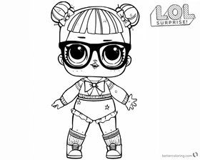 Center Stage Lol Doll Coloring Page Lol Surprise Doll Colo Kartka Koristuvacha Elena Kostackowa U Yan Bunny Coloring Pages Lol Dolls Unicorn Coloring Pages