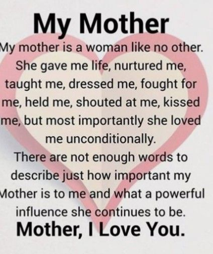 I Love My Mum From Pops Happy Mother Day Quotes Mothers Day Quotes Mother Quotes