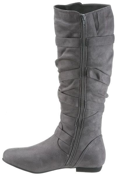 pretty nice f9345 1ed1f CITY WALK Stiefel grau #schuhe #fashion #shoes #stiefel ...