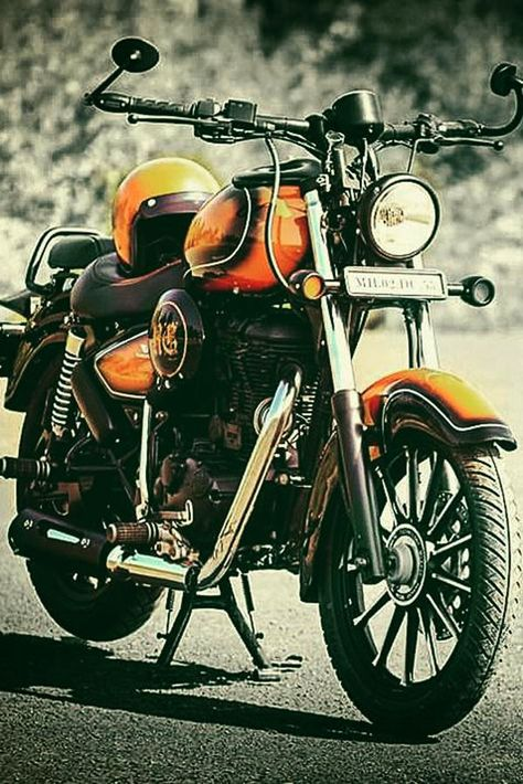 Royal Enfield Classic 350 Rebel Rust By Vardenchi Royal Enfield