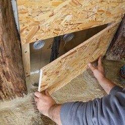 Isoler Une Toiture Par L Interieur Avec Des Panneaux De Polyurethane Isolation Toiture Isolation Panneau Isolant Toiture