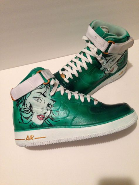 buy online a7239 c5a3e Custom Nike Air Force 1, Men s Sneakers,