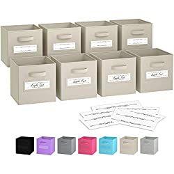 The Ultimate List Of Art Journal Supplies In 2020 Cube Storage Bins Cube Storage Storage Baskets