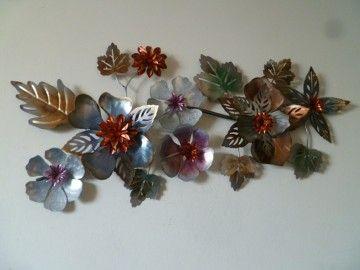 Wanddecoratie Metaal Metalen Bloemen Metaal Wanddecoraties