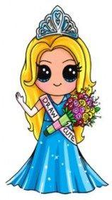 New Drawing Girl Cute Disney Princess Ideas #drawing
