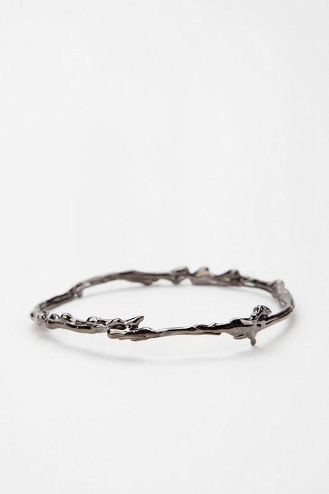 Erica Klein Skinny Drip Bangle Bracelet
