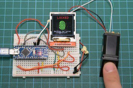 Arduino Fingerprint Sensor Tutorial Arduino Programming Arduino Projects Arduino Sensors
