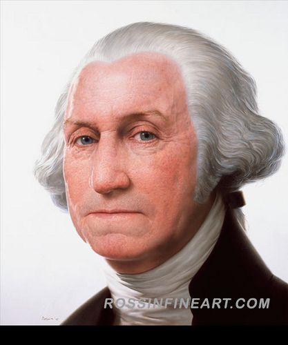 Rembrandt Peale Portrait of George Washington | History | Pinterest ...