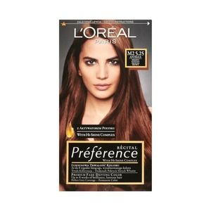 L Oreal Paris Preference Feria 5 25 M2 Antigua Frosted Chestnut Long Lasting Hair Color Loreal Preference Hair Color Lasting Hair Color Honey Blonde Hair Color