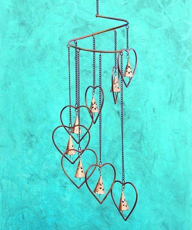 This Hearts Spiral Mobile Is Perfect Zulilyfinds Hanging