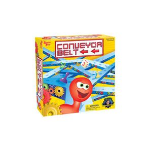 Twenty lucky winners will each receive a Conveyor Belt board game from University Games. (Approx. retail value: $19.99)