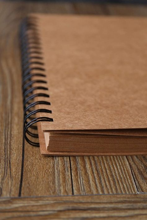 98 Pages Spiral Bound Blank Kraft Photo Album/Ring Binder | Etsy