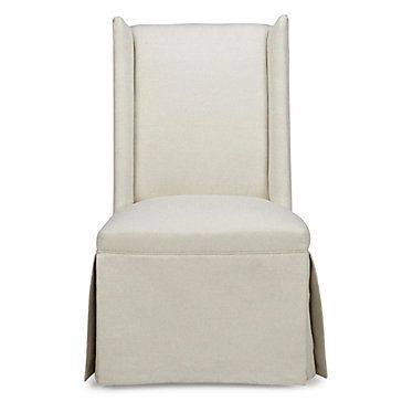 Superb Everly Skirted Dining Chair Apartment In 2019 Dining Ibusinesslaw Wood Chair Design Ideas Ibusinesslaworg