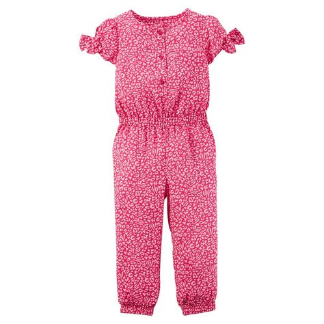 ee9357a80 Just One You Made by Carter s Baby Girls  Jumpsuit - Pink Floral 18M ...