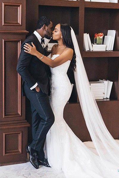 Black natural hair brides wedding hairstyles inspiration embroidered applique cathedral veil your wedding veil store Wedding Couples, Wedding Bride, Dream Wedding, Wedding Dresses, Party Dresses, Wedding Ceremony, Wedding Styles, Wedding Photos, Bridal Pictures