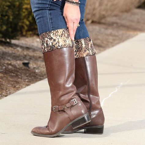 fb3ae3079 Are you tired of your old boots but don t want to spend a fortune buying  new ones  We ve got an accessory for that. Check out Kuhfs