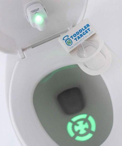 Toddler Target Toilet Light Helps Potty Train Projected Target Shape Potty Tra In 2020 Potty Training Tools Potty Training Help Potty Training Tips