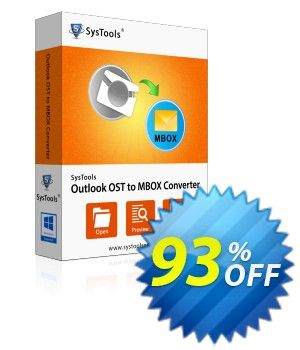 30 Off Systools Outlook Ost To Mbox Converter Coupon Code On