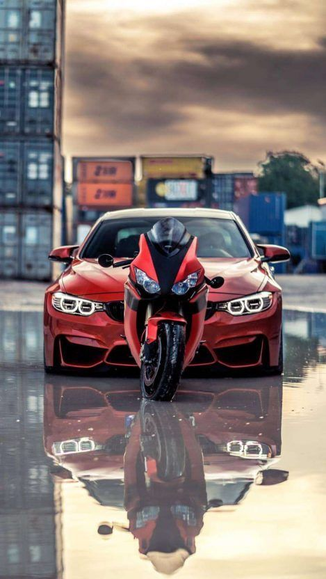 Superbike And Car Iphone Wallpaper Motorcycle Page Car Iphone