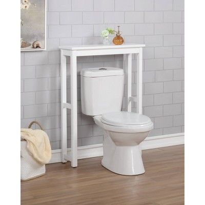 Dorset Over The Toilet Etagere White Alaterre Furniture In 2020