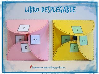 LAPICERO MÁGICO: Libro desplegable para describir objetos