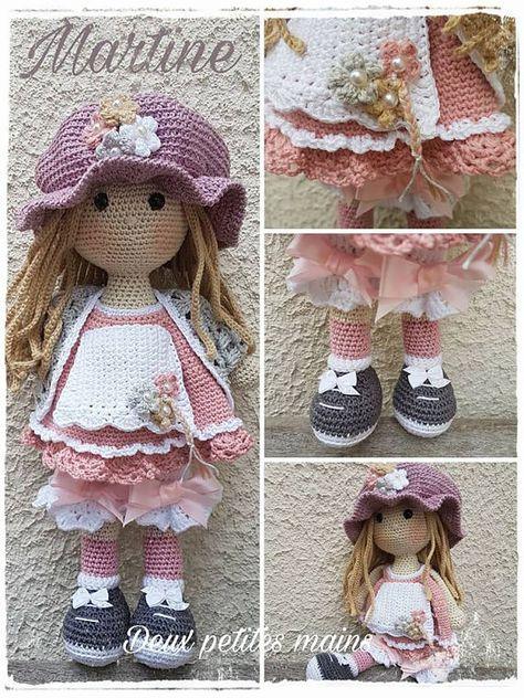 Martine Patron Crochet Pdf Inspirée De Sarah Kay Disponible Haken