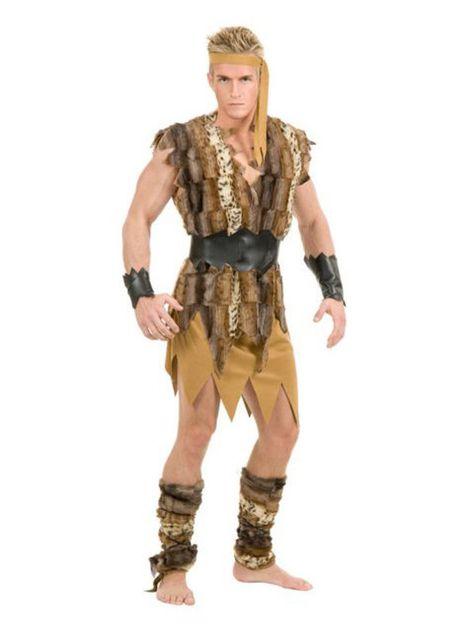 Caveman King Of Caves Adult Costume Standard