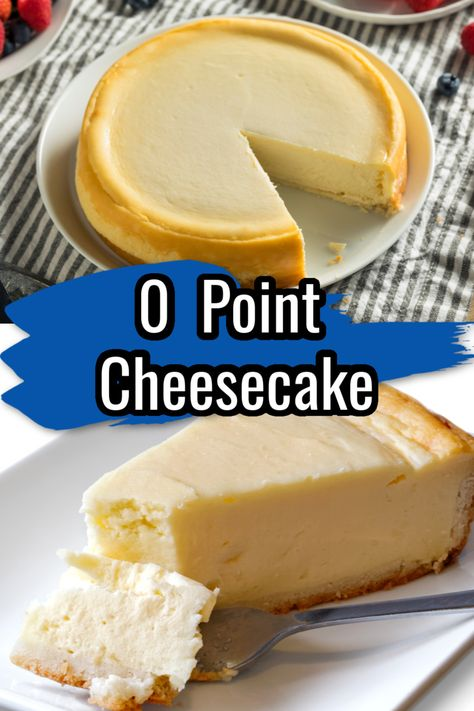 Low Calorie Cheesecake, Weight Watchers Cheesecake, Weight Watchers Zucchini, Weight Watchers Kuchen, Weight Watcher Cookies, Low Calorie Desserts, Weight Watchers Desserts, Diet Desserts, Low Calorie Recipes