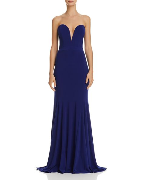 Avery G Strapless Plunging Gown PRICE $28