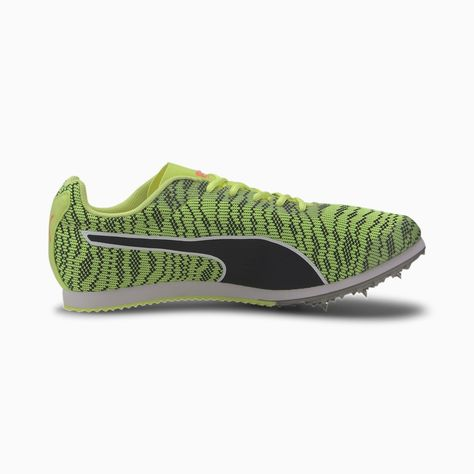 PUMA Evospeed Star 6 Kinderlaufschuhe, Sprudelndes Gelb / Schwarz, Größe 4,5, Schuhe -   #evospeed #kinderlaufschuhe #runningshoes #schuhe #schwarz #sprudelndes