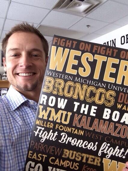 WMU FOOTBALL! Coach PJ Fleck #westernmichigan #pjfleck #wmufootball
