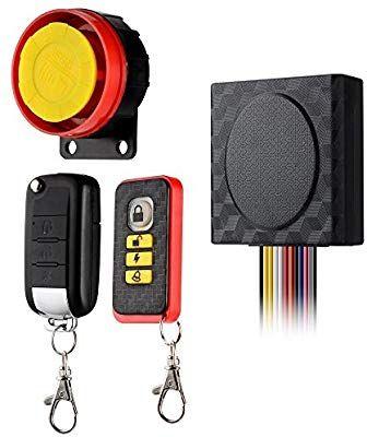 Alarma De La Motocicleta Antirrobo De Seguridad De Control Remoto