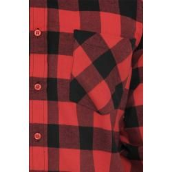 Flannel shirts for men - Urban Classics Checked Flannel Flannel Shirt Urban ClassicsUrban Classics -