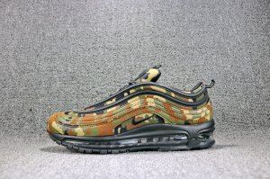 6a1601078ef3 Mens Running Shoes Nike Air Max 97 Italy Country Camo Ale Brown Black Cargo  Khaki AJ2614 202