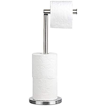 Oropy Porte Papier Toilette Sur Pied Derouleur Papier Toilette En Design Industriel S En 2020 Porte Papier Toilette Rangement Salle De Bain Derouleur Papier Toilette
