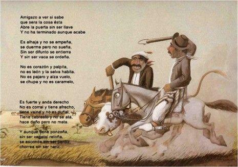 Gauchos Imágenes De Martín Fierro Frases Carteles Para