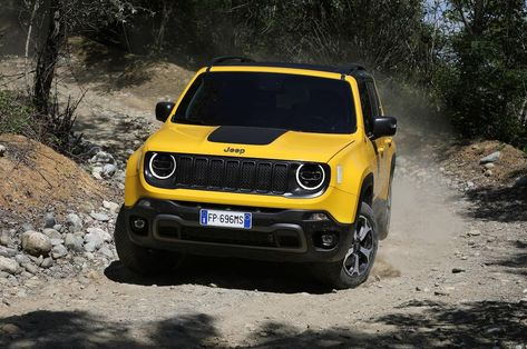 2020 Jeep Renegade Hybrid Review Price Release Date Redesign Photos