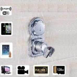 Smallest Wireless Spy Camera Hd 1080p Spy Bathroom Shower Rack
