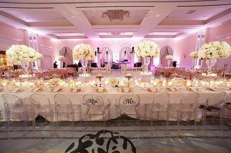 Lauren + Zach featured in @dweddings Most Popular Dallas Weddings of 2014 | Ballroom Reception | @blombergphoto