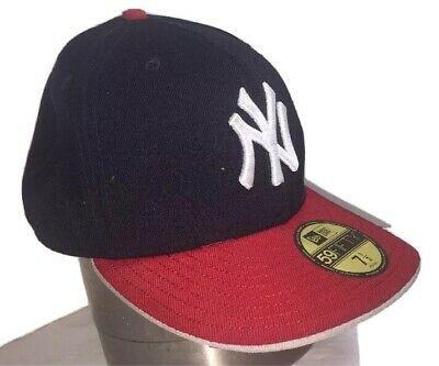 New Era New York Yankees 59Fifty Fitted 2Tone Cap White//Orange