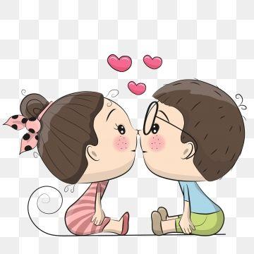 cartoon,couple,520,valentines day,romantic,white valentine,tanabata,confession,propose,cartoon couple,hand drawn couple,love,wedding,kiss,little boy,little girl