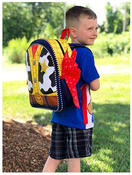 """Toy Story Woody Kids 14/"""" Backpack Set One Size YELLOW//Multi BACK TO SCHOOL Boys"""