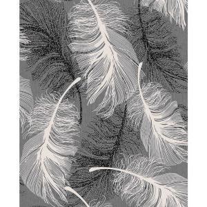 Hurston Black Feather Wallpaper