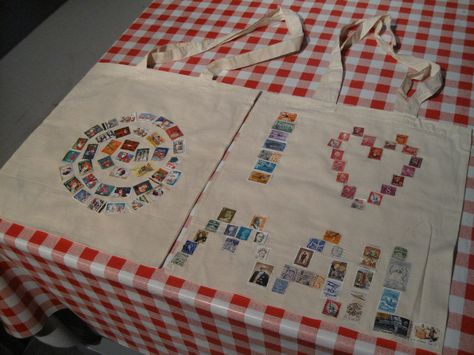 Tule viettämään hauskoja lastenjuhlia Postimuseoon! #kangaskassi #postimerkki #askartelu
