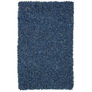 Overstock Com Online Shopping Bedding Furniture Electronics Jewelry Clothing More Leather Shag Rug Blue Area Rugs Leather Rug