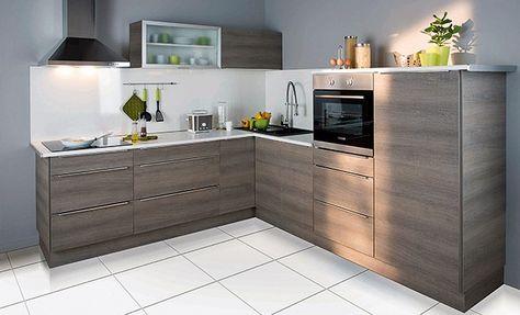 Idees Deco Installer Une Cuisine Amenagee En L Meuble