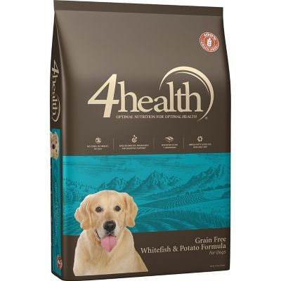 4health Puppy Food >> 4health Grain Free Whitefish Potato Formula Dog Food 30